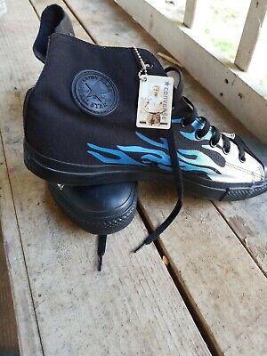 Converse Custom Chuck Taylor All Star Hi Shoes Mens SZ - Custom Converse Shoes