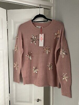 Next Xmas Jumper. Size 12. New With Tag.