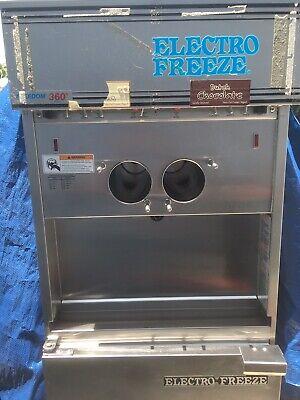 Electro Freeze Freedom 360 Series Soft Serve Ice Cream Machine 3000.00 Obo