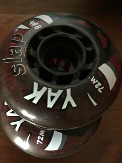Wheels YAK for Ripstick or skateboard