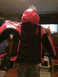 Girls Children Place  Three in one winter jacket size 10-/12