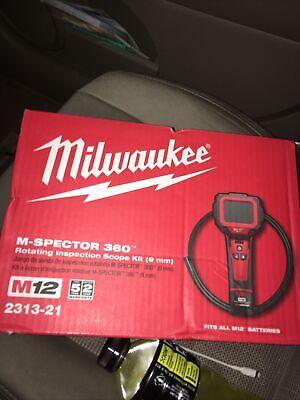 Milwaukee M Spector 360 Inspection Scope Camera Kit