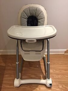 Chaise Haute avec booster Graco High Chair with booster