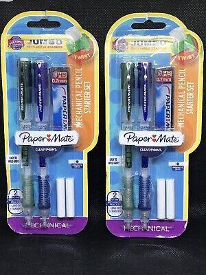Paper Mate Mechanical Pencils Combo Pack - 2 Packages 4 Pencils Wlead 0.7mm