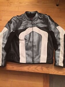 Cortech Leather Riding Jacket 2XL