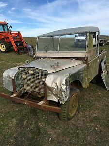 Wanted old landrover Land Rover for cash  running or not Goulburn Goulburn City Preview