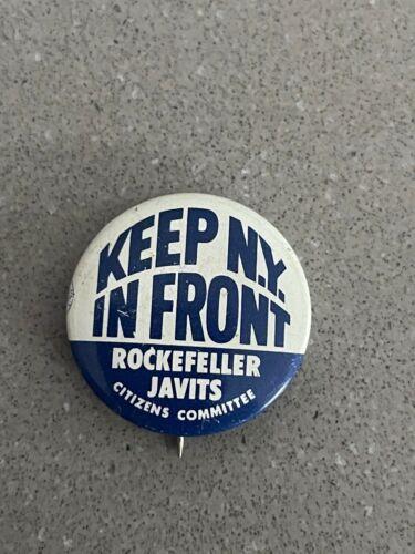 Vintage Rockefeller/Javits 1960 NY Governor & US Senate Campaign Pin Lot #37