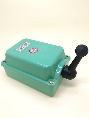 US Stock 60A Drum Switch Forward/Off/Reverse Motor Control Rain Proof Reversing
