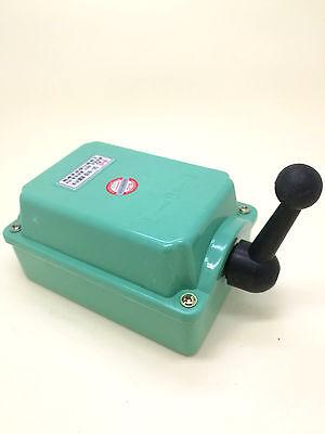 US Stock 60A Drum Switch Forward/Off/Reverse Motor Control Rain Proof Reversing