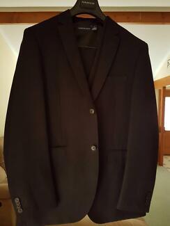 Black Formal Suit (Tarocash), 3 Piece Suit