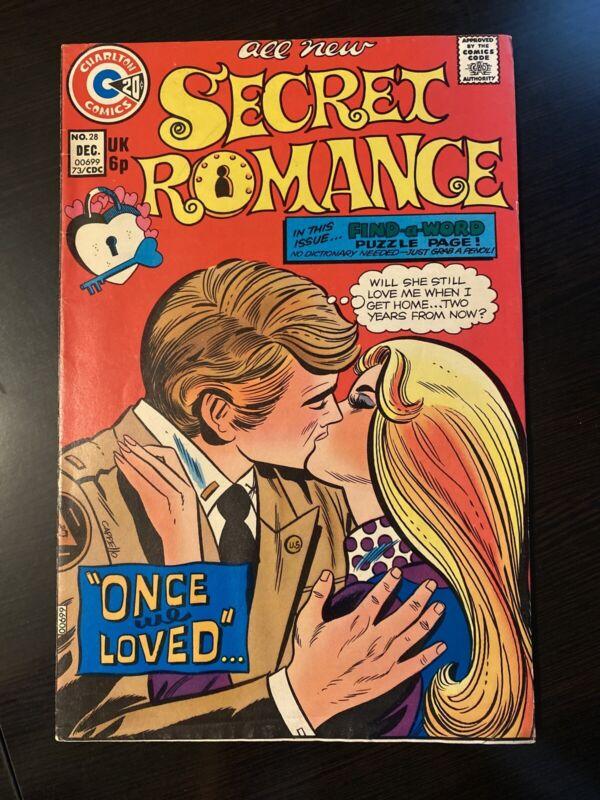 1973 Secret Romance Comic No. 28
