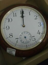 Seiko Wall Clock with Quiet Sweep Second Hand QXA432B-NEW