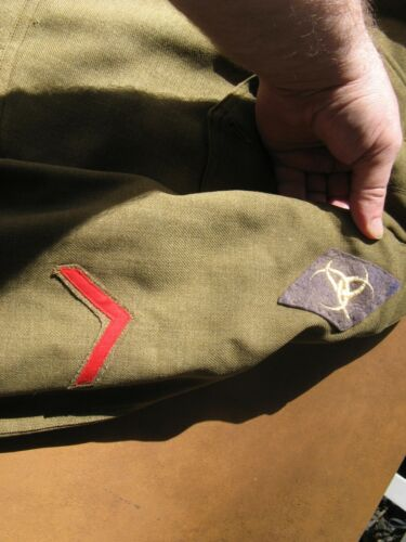 Rare Base Section 2 Service of Supply uniform 329th Supply Co?