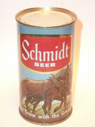12oz Schmidt Beer Nature Series Flat Top ** Clean !! ***