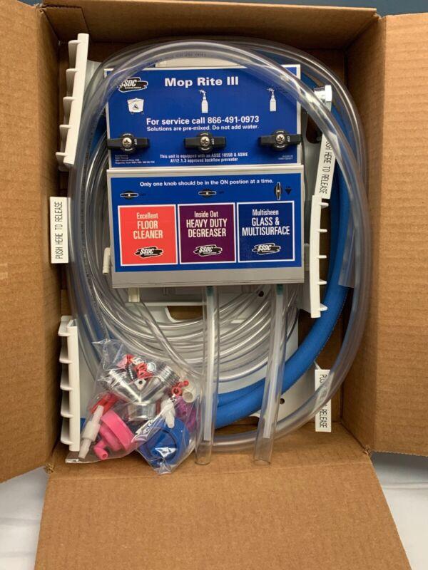 SSDC MOP RITE III 3 Liquid Detergent Dispenser Proportioner