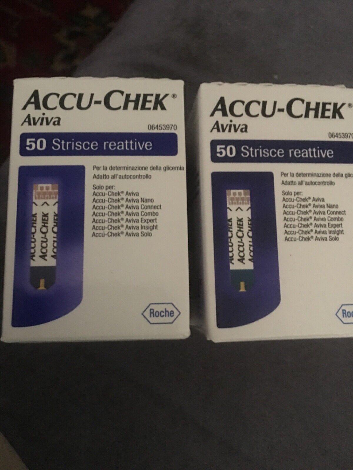 Accu Check Aviva 2x50 Teststreifen