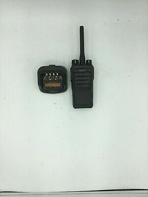 Hytera Pd502 Digital Mobile Radio W Charging Dock - Used - Free Sh