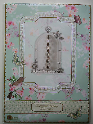 Honeycomb Birdcage Decoration Suitable for Parties, Weddings & Anniversaries
