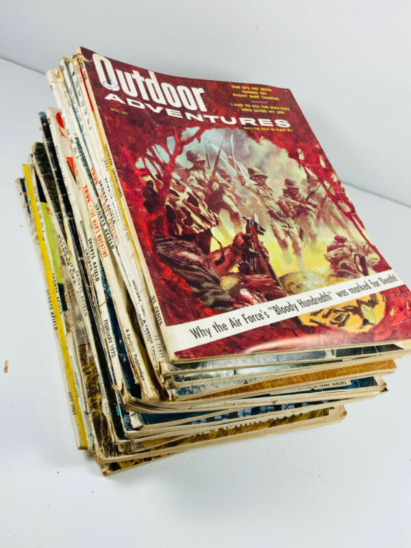 Lot (29) Vintage Sport Magazines Hunting Boating Climax Sportsman True