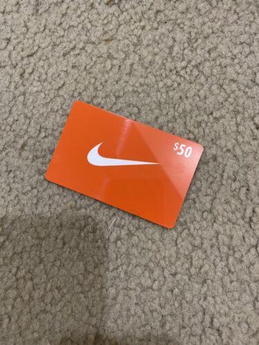 $50 Nike Gift Card - Nike.com Nike Factory US - No Expiration FREE SHIPPING