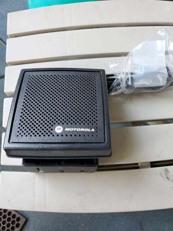 VHF Motorola Black 7.5 Watt Speaker HSN4031B