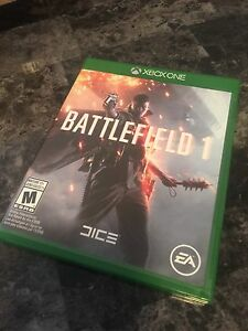 Xbox One - Battlefield 1 - Mint Condition