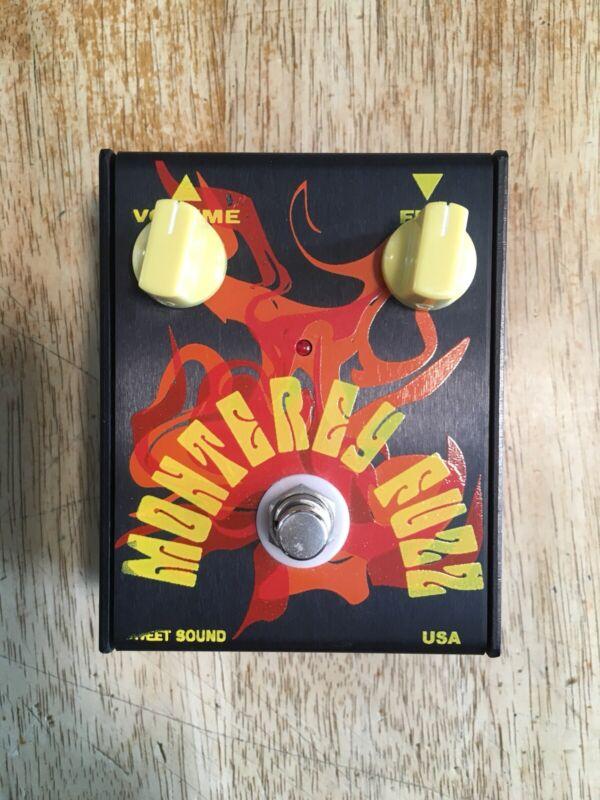 Sweet Sound Monterey Fuzz Face Guitar Pedal Nkt275 Rare