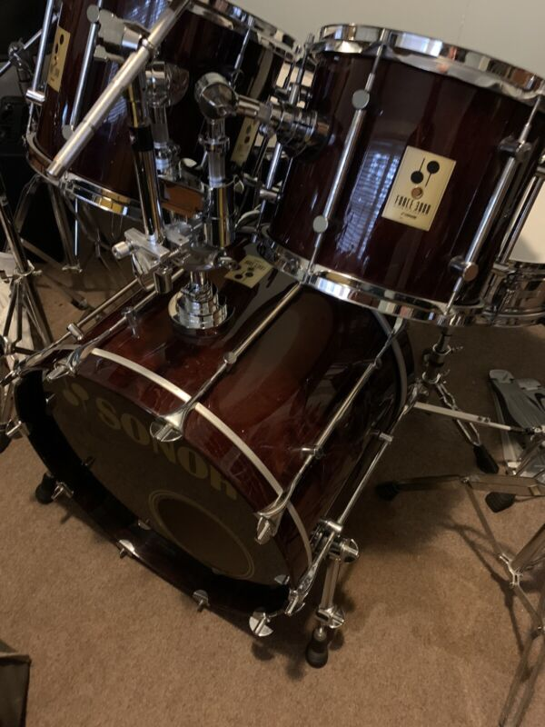 sonor force 3000 walnut Finish Made In Germany