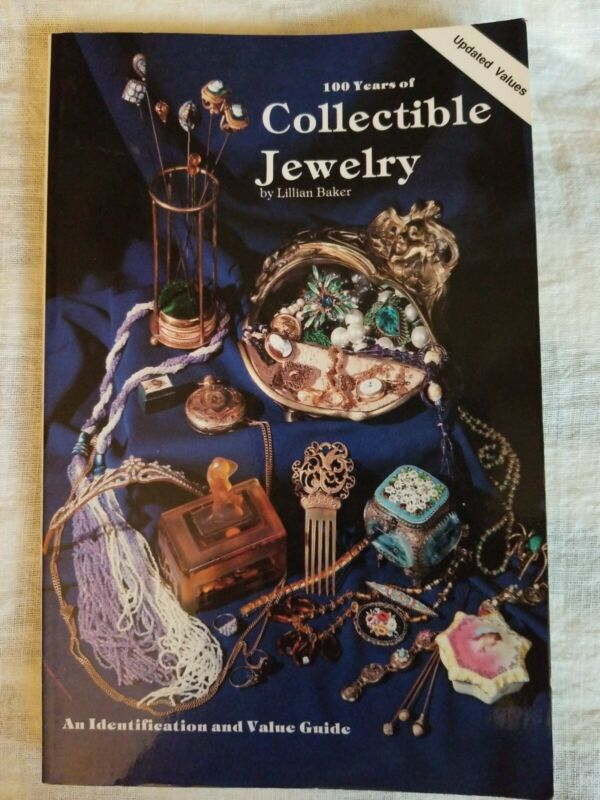 100 Years Collectible Jewelry Identification Value Guide Book by Lillian Baker