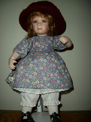 """Ganz Cottage Collectible 15"""" Crying Doll  designed by Linda Steele"""