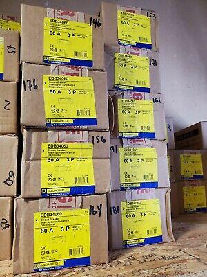 Square D Edb34060 3pole 60amp 480v Circuit Breaker Type Nf New In Box Sale