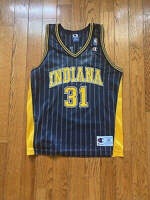 NBA Champion Jersey REGGIE MILLER Indiana Pacers Size 40