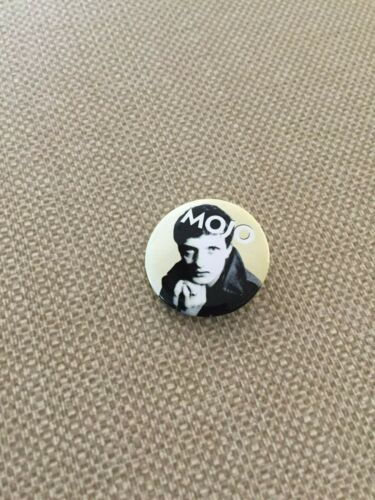 IAN CURTIS Joy Division Pin Badge Mojo Mag promo