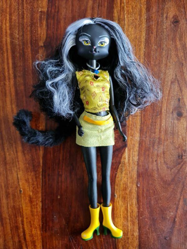 Catwalk Kitties Doll - 2004 Lanard Dolls - Cat Doll With Tail