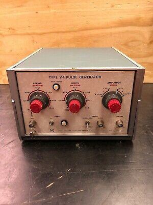 Type 114 Pulse Generator Tektronix Inc. Portland Or