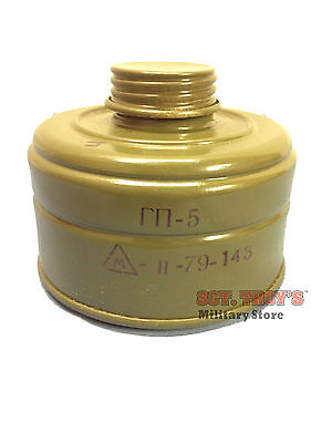 40mm NATO RUSSIAN GAS MASK CANISTER FILTER GP-5