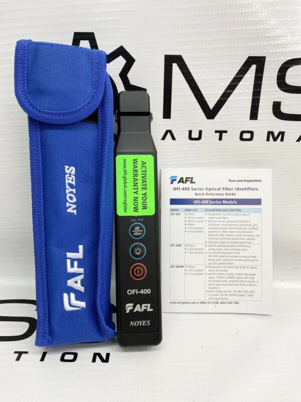 AFL Noyes OFI-400 Optical Fiber Traffic Identifier OFI400 OFI 400 Live Fiber