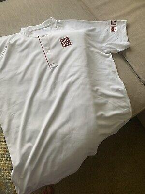 Roger Federer Uniqlo Wimbledon Shirt