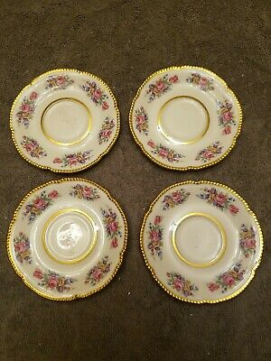 4-4pc Setting Flowers Silverware NOS Classic/'s by Handley Plate Cup Saucer