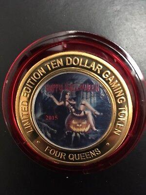 $10 Casino Silver Strike 2015 Halloween Four Queens (Halloween Four)