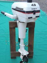 4 HP Outboard Motor:  Johnson Seahorse 2 stroke Auchenflower Brisbane North West Preview