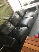 Leather couches  Bankstown Bankstown Area Preview