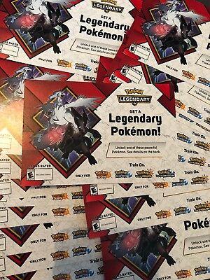 Pokemon Legendary Event Code Zekrom Or Reshiram Ultra Sun Ultra Moon