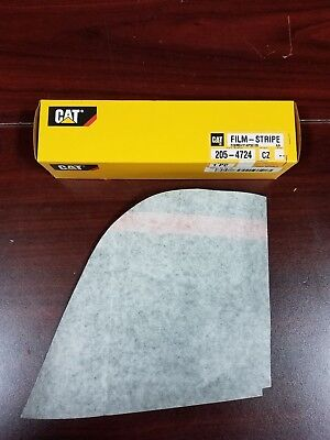 Genuine Caterpillar Cat D5n Lh Front Striping Film Decal205-4724