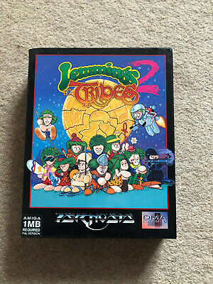 Commodore Amiga Game - Lemmings 2 - Tribes - Psygnosis