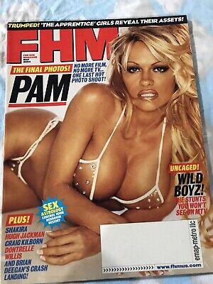 FHM Magazine-May, 2004-Pamela Anderson
