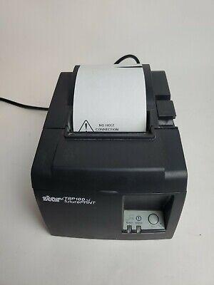 Nice Used Star Micronics Tsp100 Futureprnt Receipt Printer Fast Free Ship - A4