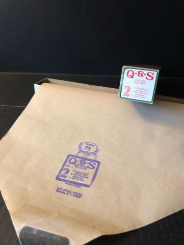 QRS CHRISTMAS PARTY PACK II -  Roll #2 -   3 Songs