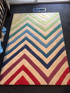 Colourful rug - great for kids bedroom, cubby house or play area Mount Eliza Mornington Peninsula Preview