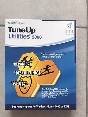 TuneUp Utilities 2006 von S.A.D. | Software | Original Karton | PC Software NEU
